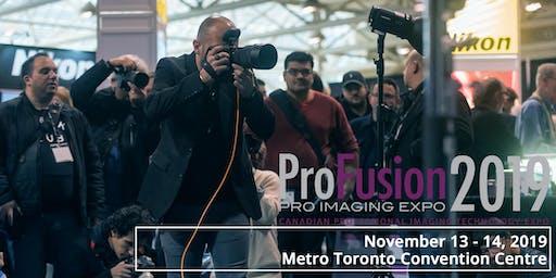 ProFusion Expo 2019 - November 13 - 14 - Toronto