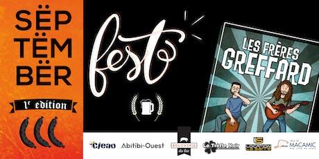 SËPTËMBËR Fest 2019 billets