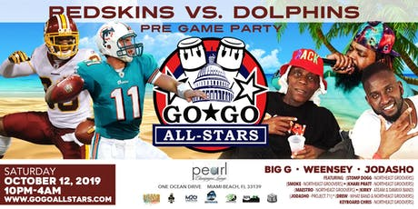 MTO2019 REDSKINS VS DOLPHINS tickets