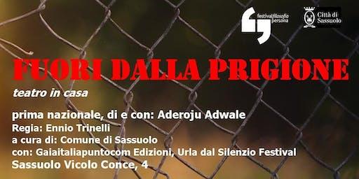 """#TeatroinCasa """"Fuori dalla Prigione"""" di e con Aderoju Adawe"""
