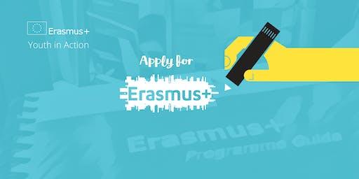 Erasmus+ KA2 Youth Application Workshop, Dublin