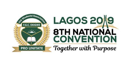 FEGOCOOKOSA 8th National Convention,LAGOS2019 tickets
