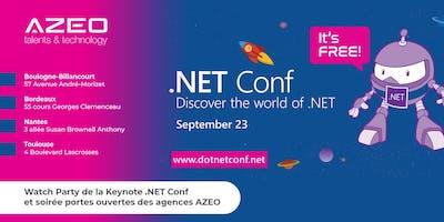 [Nantes] .NET Conf 2019 - Watch Party / Soirée Portes Ouvertes AZEO