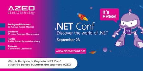 [Nantes] .NET Conf 2019 - Watch Party / Soirée Portes Ouvertes AZEO billets