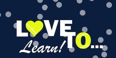 Love to Learn ***** Beginner Tennis at Hunter's Creek