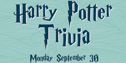 Harry Potter Trivia at Big Storm Pasco