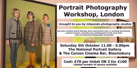 Portrait Photography Workshop & Gallery Tour tickets