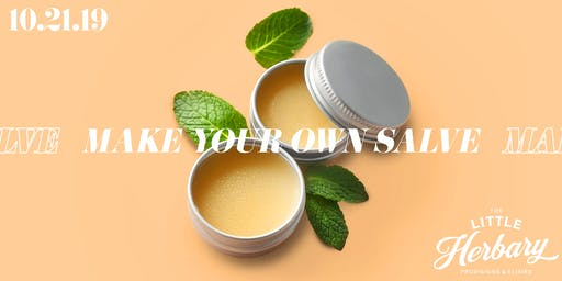 Make Your Own Salve