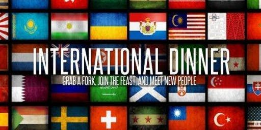 International, UK/EU Student Welcome FREE Dinner