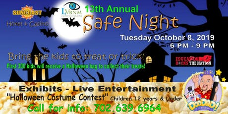 13th Annual LVBNM Safe Night Expo tickets