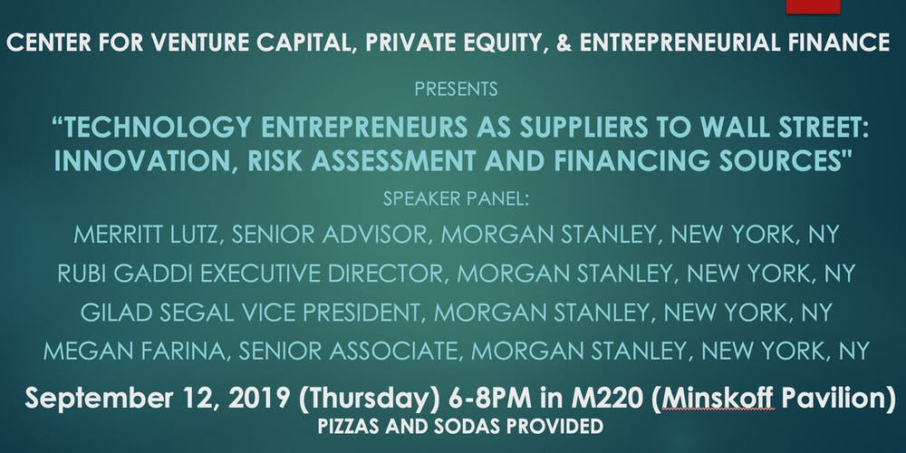 The Broad College CVCPEEF Presents: Morgan Stanley Tickets