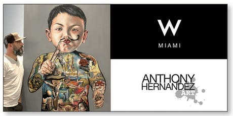 W MIAMI BRICKELL - LIVE PAINTING by ANTHONY HERNANDEZ tickets