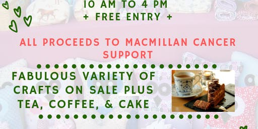 Autumn Craft Fair on behalf of Macmillan Cancer Support