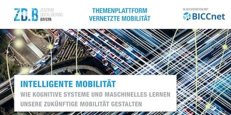 Intelligente Mobilität: Wie kognitive Systeme und maschinelles Lernen unsere zukünftige Mobilität gestalten tickets