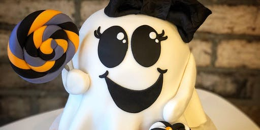 Kid's Halloween Cake Class - October 28 PM