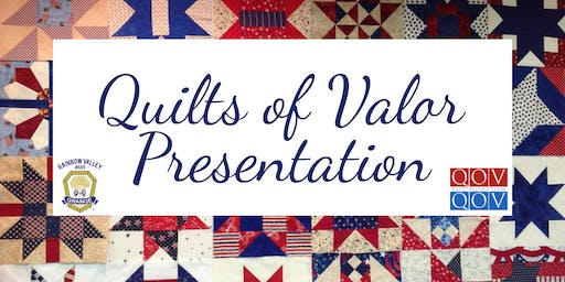 Quilts of Valor Presentation @ Rainbow Valley Grange