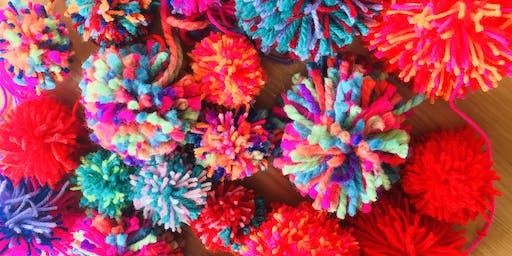 Pom Pom Heaven Worksop- Go Girl Gets creative with fun Pom Pom masterclass