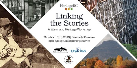 Linking The Stories: A Warm Land Heritage Workshop tickets