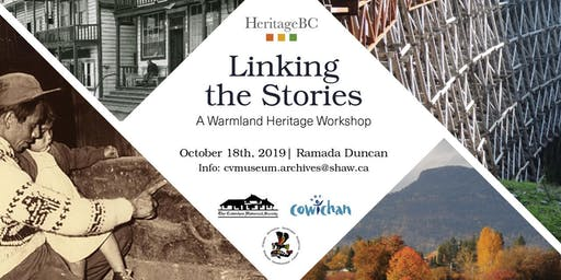 Linking The Stories: A Warm Land Heritage Workshop