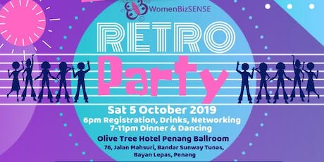 Retro Party - WomenBizSENSE 13th Anniversary Dinner  tickets