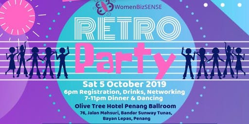Retro Party - WomenBizSENSE 13th Anniversary Dinner