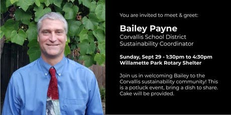 Meet the Corvallis School District Sustainability Coordinator tickets