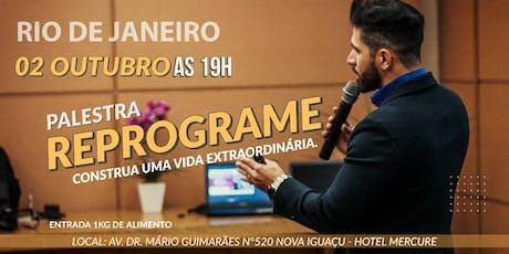 WORKSHOP REPROGRAME - CONSTRUA UMA VIDA EXTRAORDINÁRIA. tickets