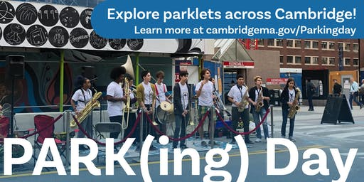 PARK(ing) Day Cambridge 2019