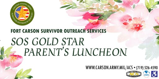 Fort Carson Gold Star Parent's luncheon