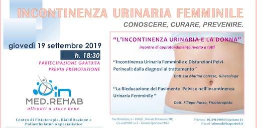 L'incontinenza urinaria nella donna