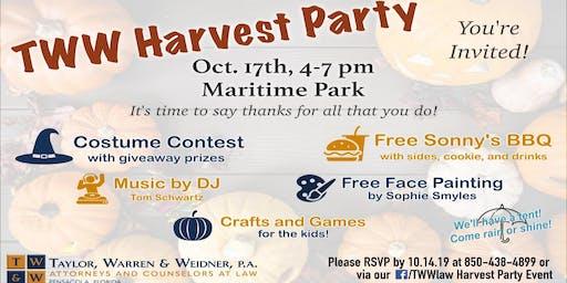 TWW Harvest Party