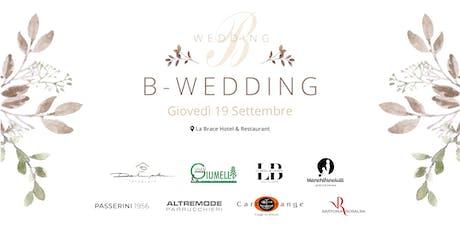 B-Wedding biglietti