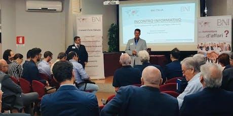 Incontro Informativo BNI sul Marketing Referenziale a Palermo! biglietti