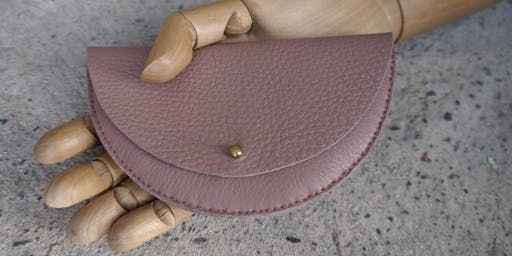 Make a Leather Coin Purse with Jude Gove