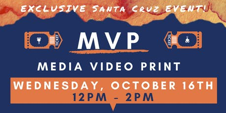 Exclusive MVP Marketing Event Santa Cruz! (lunch provided) tickets