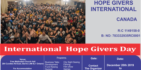 Hope Givers International Day tickets
