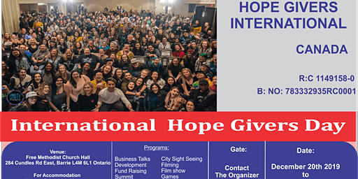 Hope Givers International Day
