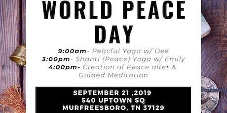 World Peace Day Celebration tickets