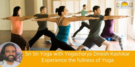 Sri Sri Yoga Master Class with Kashiji - Experience the Fullness of Yoga tickets