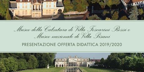 Presentazione Offerta Didattica 2019/2020 biglietti