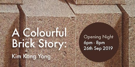 A Colourful Brick Story: Kim Kang Yong tickets