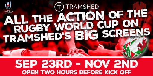 Rugby World Cup: Wales vs Fiji (Tramshed, Cardiff)