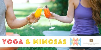 Yoga & Mimosas at Calamigos Guest Ranch and Beach Club with Kaleide
