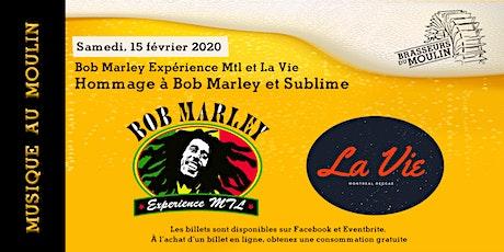 Musique au Moulin - Hommage à Bob Marley et Sublime billets