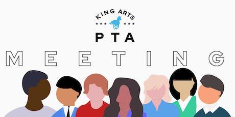 September 2019 PTA Meeting tickets