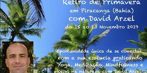Retiro de Yoga Mindfulness e Reiki com David Arzel em Piracanga (Bahia)