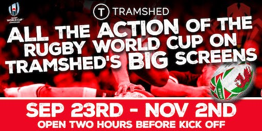 Rugby World Cup: Quarter Final 1 (Tramshed, Cardiff)