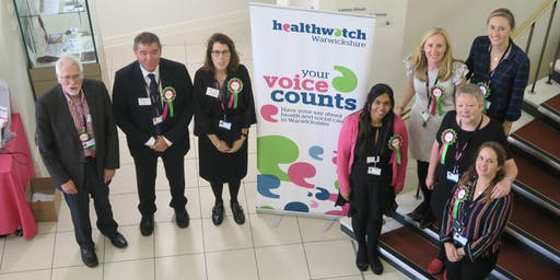 Healthwatch Warwickshire Annual Conference and AGM 2019