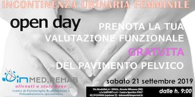 Open Day contro Incontinenza Urinaria Femminile