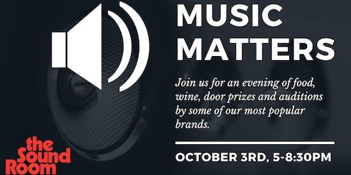 Music Matters 2019